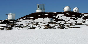 Observatories on Mauna Kea. Photography by Baron Sekiya for Hawaii 24/7.