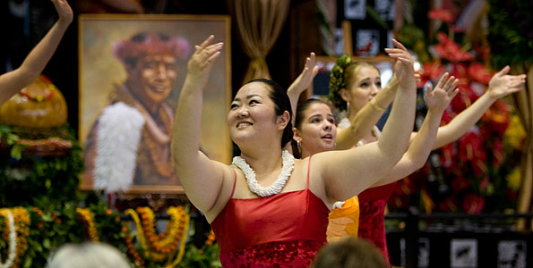 The celebration continues 9 a.m.-5 p.m. Saturday (Nov 7), including a Hawaiian service at 1 p.m. conducted by the Rev. Kaniela Akaka.
