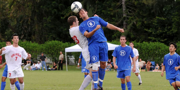 Chaminade took on the Vulcans of Hawaii-Hilo this afternoon and fell by a score of  6-2.