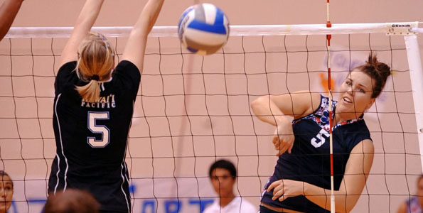 The Vulcans notch another win with a four set match against Hawaii Pacific University Saturday (Nov 7). UH-Hilo won 25-23, 22-25, 18-25, 19-25.