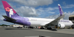 The winglets will make the Boeing 767-300 jets more efficient and environmentally friendly. (Photo special to Hawaii 24/7 by Damian Balinowski, Hawaiian Airlines)