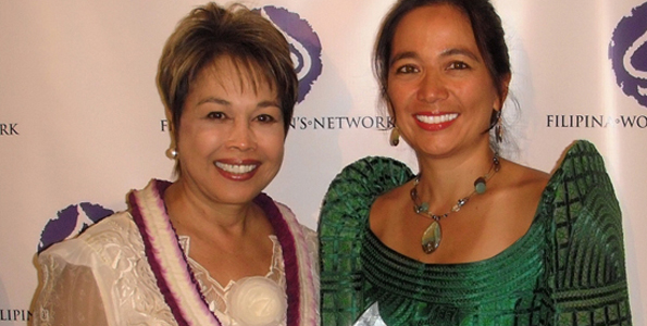 Local realtor accepted Filipina Women's Network award last month in California