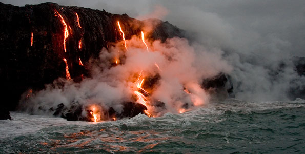 If you wanna see some lava, this is the way to do it up close and a little personal