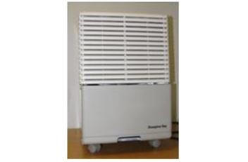 "The dehumidifiers are beige, have four wheels, and measure 21 inches high, 13 ½ inches wide and 17 ½ inches long. ""Hampton Bay"" is printed on the front panel. Model HB-50 is being recalled. An internal component can fail causing the dehumidifier to overheat, posing fire and burn hazards to consumers."