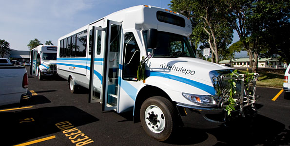 The Hawaii County Mass Transit Agency has prepared two surveys to gather data on interest, scheduling, and routing for bus service within Hawaiian Paradise Park and addition bus service between the Volcano area and Hilo.
