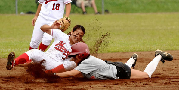 UH-Hilo hosted their own when the annual Alumni softball and baseball games were held on campus. Photos from the games.