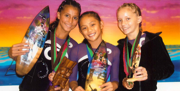 Medals and trophies for Kona athletes at Oahu meets; next meet Feb. 6 at Pantheon Gymnastics in Hilo