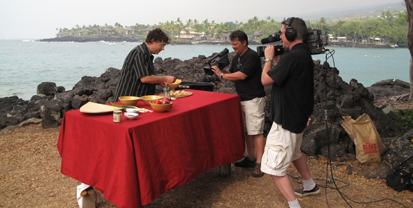 New PBS cooking show films on location around the island