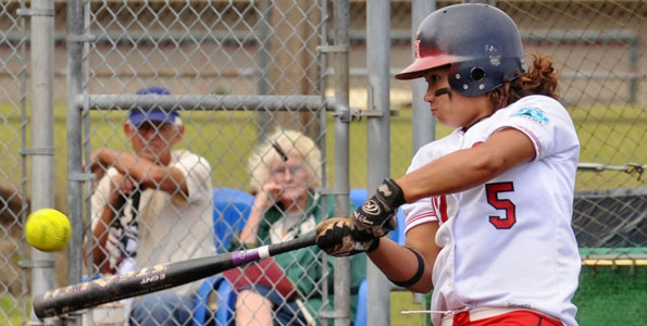The University of Hawaii at Hilo delivered early knockout blows as they TKOed Dominican University twice in a Pacific West Conference doubleheader on the UHH Softball Field.