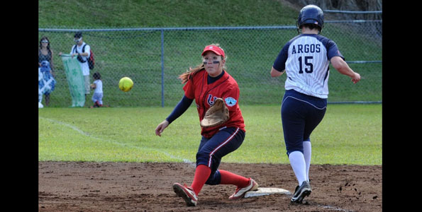 The Lady Vulcans sweep the series against the Argonauts by taking both games of the double header Saturday (March 13). Boxscores and photos.