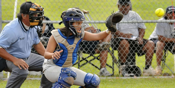 In BIIF girls softball the host Waiakea Warriors defeated the visiting Kamehameha-Hawaii Warriors 11-1.