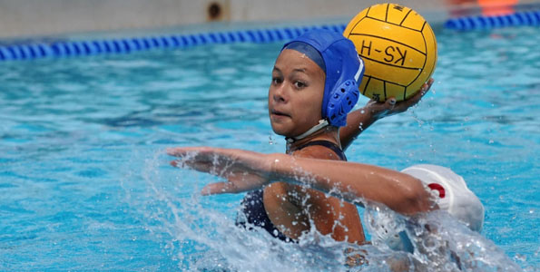 Photos from girls water polo at Kamehameha-Hawaii campus in Keaau Saturday (April 17).