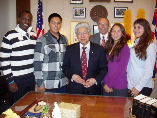Parker School student represents Hawaii 4-H in D.C.