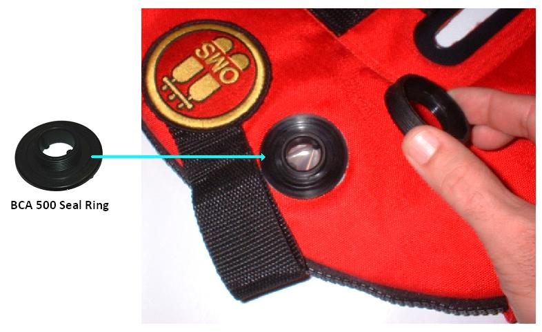 "The buoyancy compensator seal ring could crack, posing a drowning hazard to divers. This recall involves buoyancy compensators with the following model numbers. Buoyancy compensators provide buoyancy control for scuba divers by allowing them to inflate or deflate the devices. The compensators were sold in black or red. ""OMS"" is printed on the front inside of the compensators. Item and serial numbers are printed on the warning label located in the non-inflation area of the buoyancy compensator."