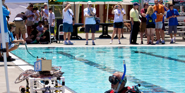The Big Island takes center stage in an international underwater robot competition.