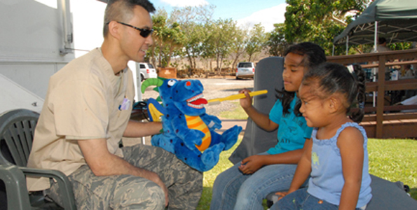 During the first four days, Ohio National Guard unit saw more than 90 patients and performed nearly $2,400 in services