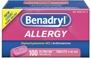 Consumer Healthcare, Division of McNEIL-PPC, Inc., is recalling five product lots as an addition to the list of products included in the company's January 15th, 2010 product recall. The additional lots involved are four product lots of BENADRYL® ALLERGY ULTRATAB™ TABLETS, 100 count, sold in the U.S.; and one product lot of EXTRA STRENGTH TYLENOL® Rapid Release Gels, 50 count sold in the U.S., Trinidad and Tobago, Bermuda, and Puerto Rico.