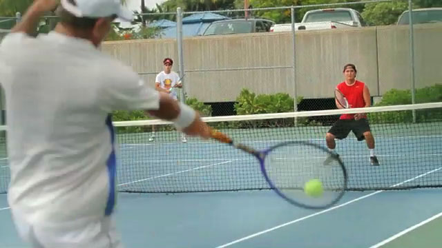 A weekend of tennis at Holua Tennis Center at Mauna Loa Village in Keauhou.