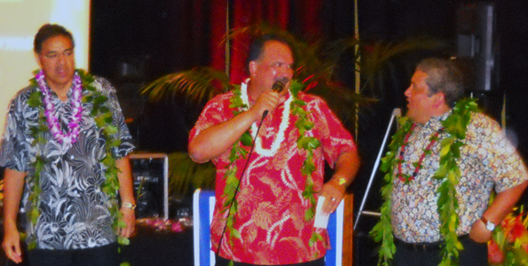 Annual fundraiser weekend included dinner, auction, golf and more dinner; 98 cents of every dollar stays on the Big Island