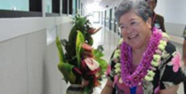 Director of nursing honored for career that spans 43 years