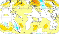 Second hottest July on record as El Nino fade continues