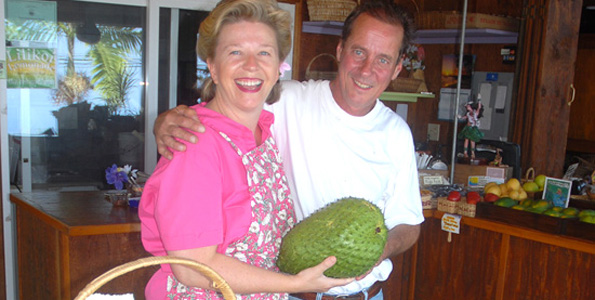 Giant fruit weighs 8.14-pound, measures 24 inches around and 11.5 inches long