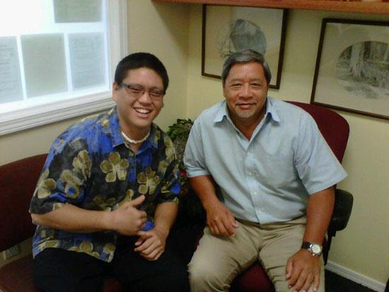 Konawaena grad interns with county planners