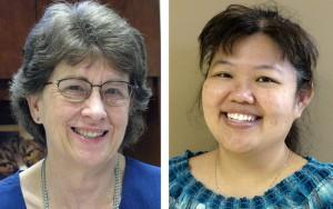 Nancy Crawford, Kay Oshiro