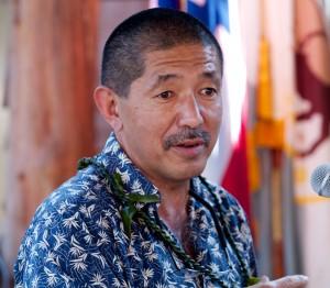 Quince Mento, Hawaii County Civil Defense Director.