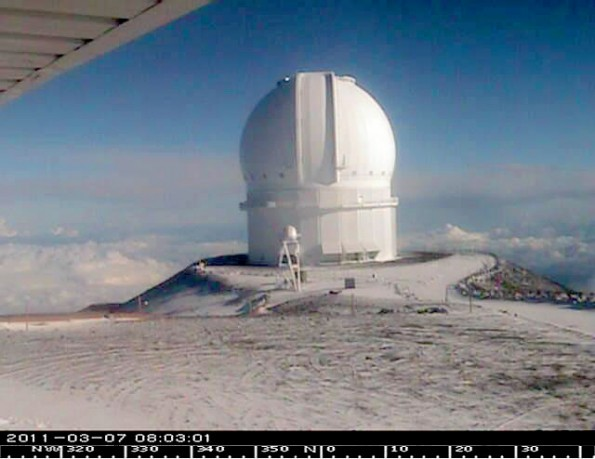 Canada-France-Hawaii Telescope. Photo courtesy of CFHT