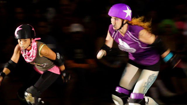 The Paradise Roller Girls host the Garden Island Renegade Rollerz of Kauai Saturday (March 12) at Hilo's Afook-Chinen Civic Auditorium. Video of the match.