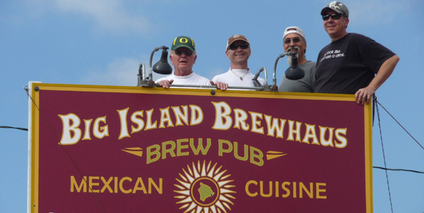 Hawaii's highest - 2,764 feet - microbrewery opening at Cook's Corner with award-winning brewmaster at the helm