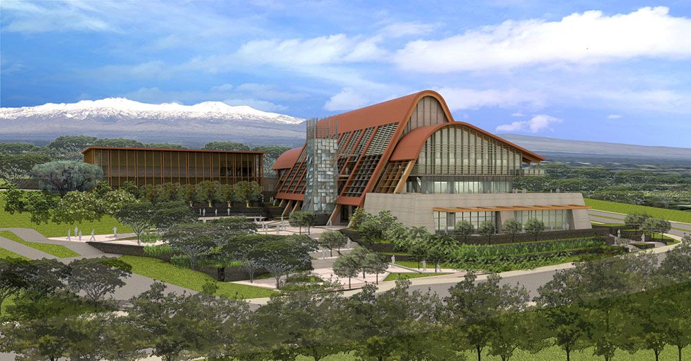 The University of Hawaiʻi at Hilo has successfully completed the design phase of a permanent state-of-the-art building for the College of Pharmacy, thanks in part to $5.5 million funding from the state Legislature in 2009.