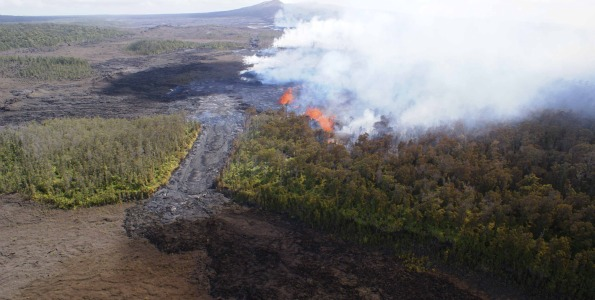 March 2011 Kamoamoa fissure eruption was one of Pele's surprises; similar to January 1997 Napau Crater episode