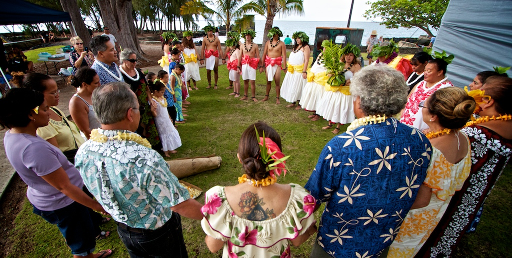Photos from the Kamehameha Festival at Moku Ola Saturday (June 11).