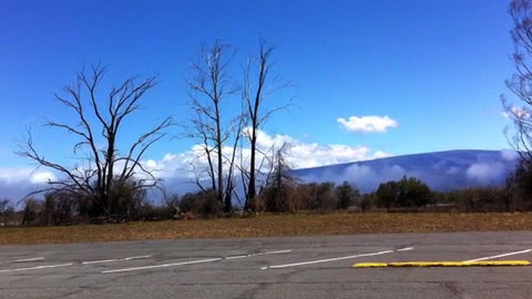 The National Weather Service in Honolulu has issued a Wind Advisory for the summits on Maui and on the Big Island until 6 a.m. Friday (July 8).