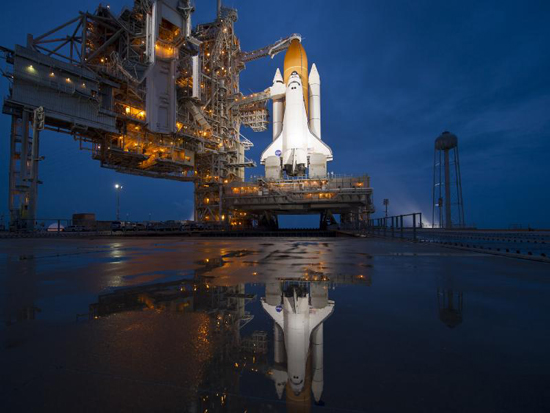 See ya, Shuttle. One last blast