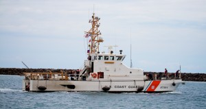 US Coast Guard Marine Protector class 87-foot coastal patrol boat 'Ahi' out of Honolulu, Hawaii