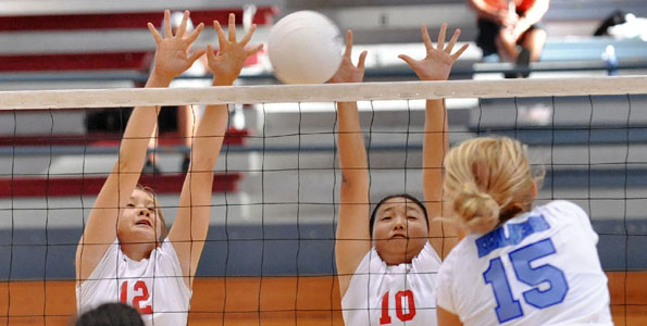 Action began Thursday (Aug 18) for the Saint Joseph Lady Cardinals Invitational Volleyball Classic. Photos of the matches.