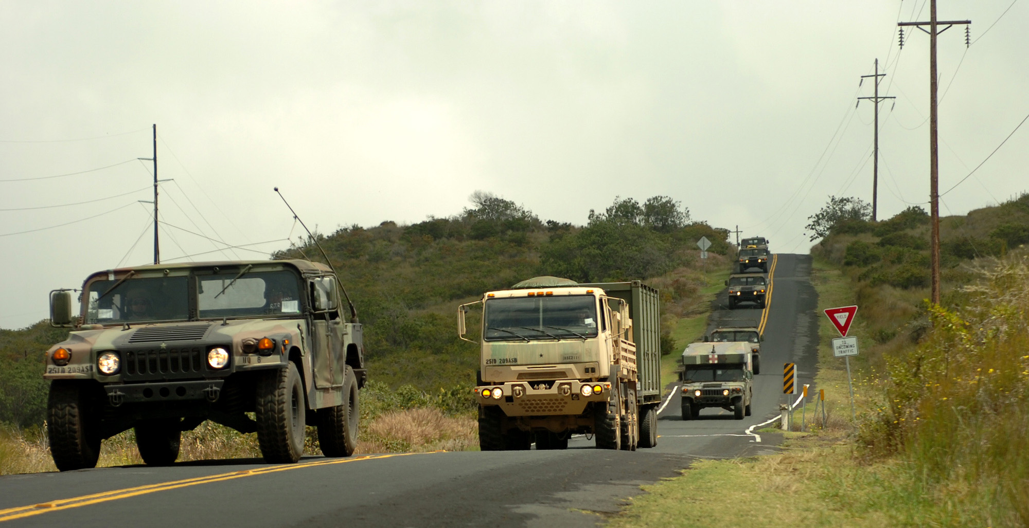 Oahu-based military units will convoy from Pohakuloa Training Area to Kawaihae Harbor Aug. 24-25, between 8 a.m. and 3 p.m., via Saddle Road, Mamalahoa Hwy., Waikoloa Road, Queen Kaahumanu Hwy., and Akoni Pule corridor.