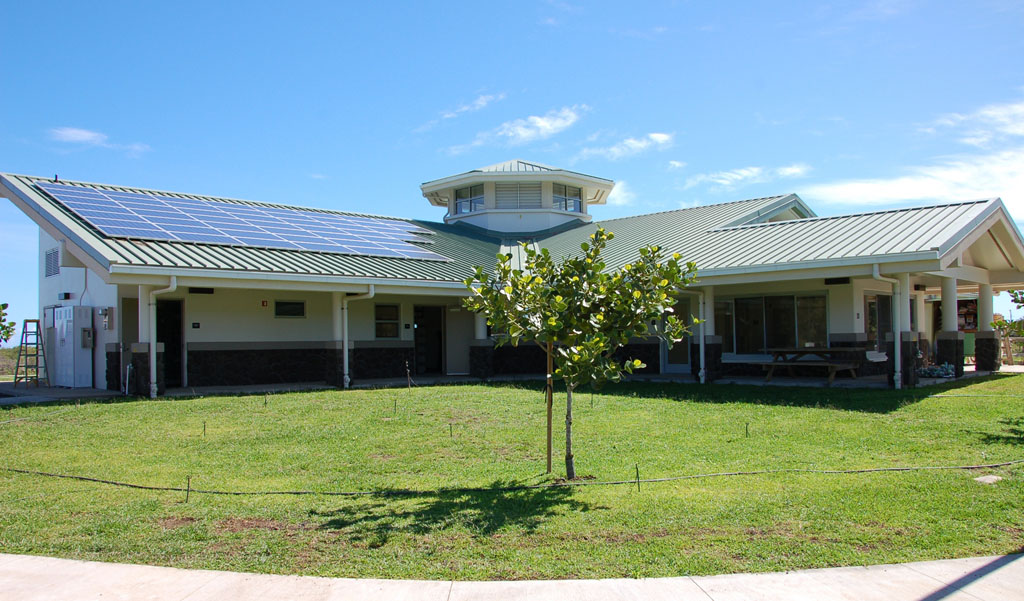 North Kohala Public Library has reached another milestone, as it generated more energy than it consumed during the month of May.
