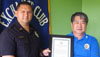 """The Aloha Exchange Club of East Hawaiʻi recognized Officer Erhard Autrata on Thursday (August 25) as """"Officer of the Month"""" for August. It was Autrata's second such award this year.  The Hilo patrol officer was honored for what his supervisor described as his """"continued commitment and dedication"""" to arresting drunk drivers."""