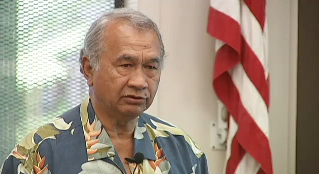 "Big Island District 2 State Senator Gilbert Kahele held the first of five ""Talk Story"" forums Wednesday (Aug 31) in Volcano at the Copper Center."