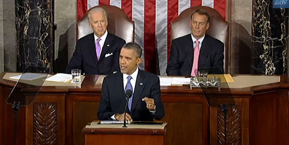 Video of President Obama's address to Congress and reaction from Senator Daniel K. Akaka and Governor Neil Abercrombie.