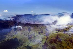 Mount Tambora caldera. Photo by Jialiang Gao /peace-on-earth.org