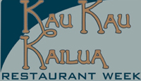 2nd Annual Kau Kau Kailua Restaurant Week (Sept. 18-24)