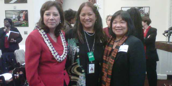 Masunaga invited as only Hawaii representative at forum on women and the economy