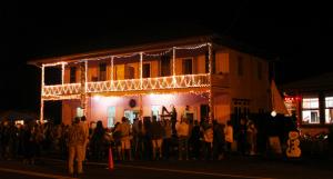 Kona Hotel in Holualoa during the Music & Light Festival