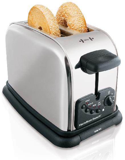 When the toasters are first plugged into the outlets, the heating element can be energized although the toaster lifter is in the up or off position, which can pose a fire hazard if the toaster is near flammable items.
