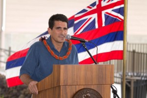 Steve Colon, Hunt Companies Hawaii Division President, representing Palamanui LLC